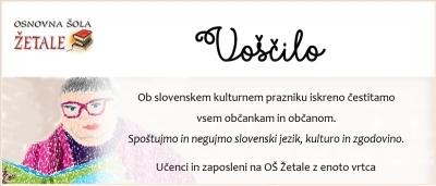 PREŠERNOV DAN, SLOVENSKI KULTURNI PRAZNIK
